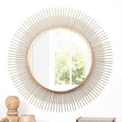 Pressler Sunburst Accent Mirror - Wayfair