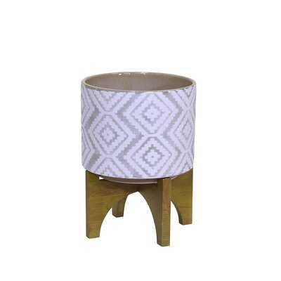 Christabelle Decorative Ceramic Pot Planter - AllModern