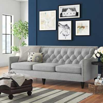 """Stoughton 84"""" Square Arm Sofa - Wayfair"""