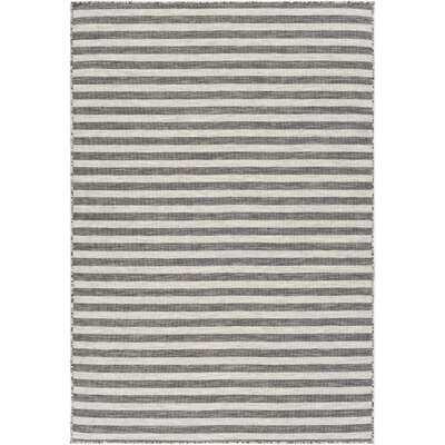 Elihu Ivory/Grey/Taupe Indoor/Outdoor Area Rug - Wayfair