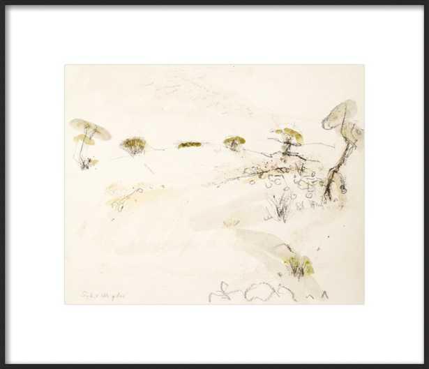 Desert Scene by Sybil Wigdor  for Artfully Walls, 21x18 - Artfully Walls