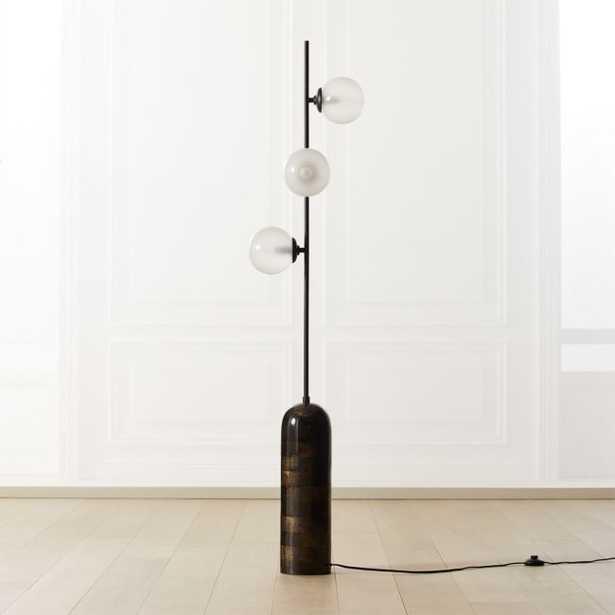 Aristocrat 3-Globe Floor Lamp - CB2