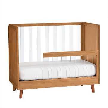 Sloan Standard Crib, Guard Rail Conversion Kit, Acorn, WE Kids - West Elm