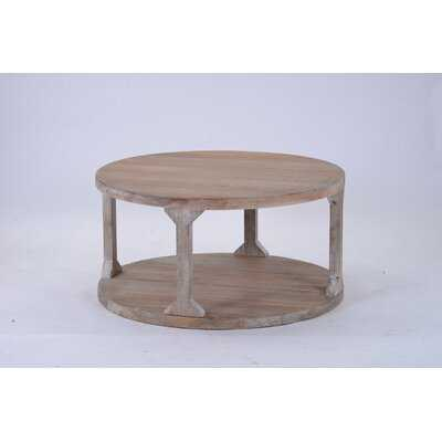 Floor Shelf Coffee Table with Storage - Wayfair