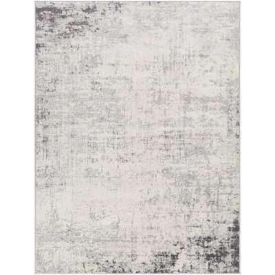 Faine Abstract Charcoal Area Rug - Wayfair