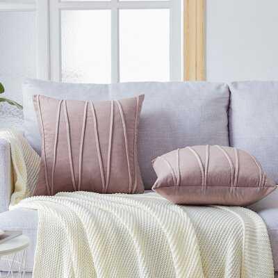 Square Velvet Pillow Cover - Wayfair