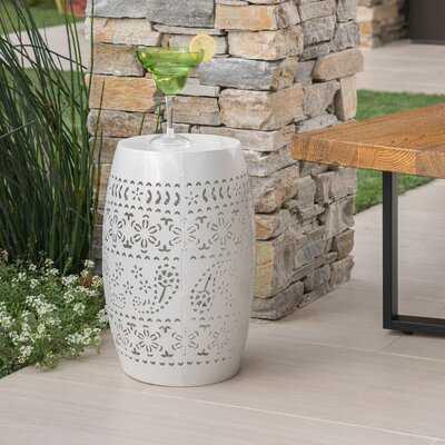 Ifrane Metal Side Table - Wayfair