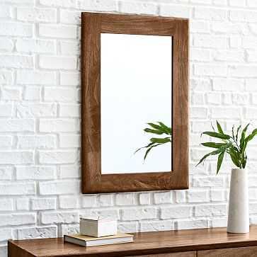 Anton Mirror, Burnt Wax, Rectangle - West Elm