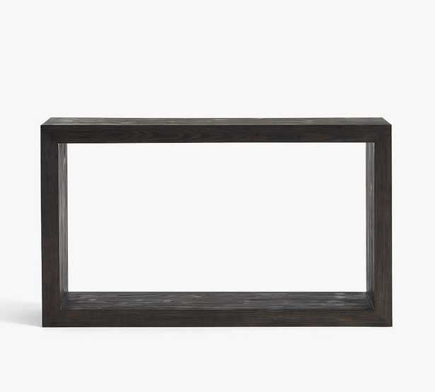 Folsom Console Table, Charcoal - Pottery Barn