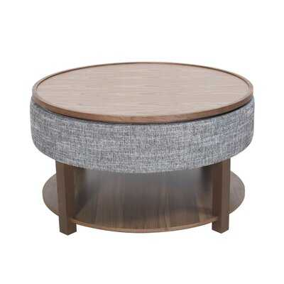 Charleen Lift Top Coffee Table with Tray Top and Storage - Wayfair