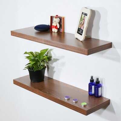 Bully 2 Piece Floating Shelf - Wayfair