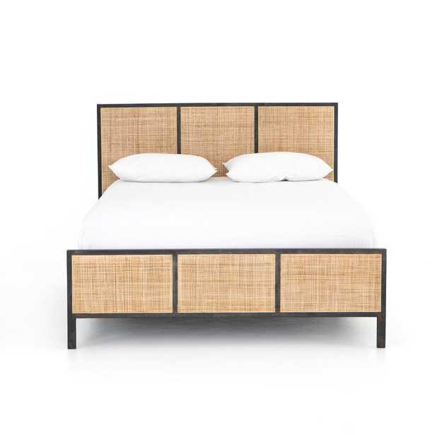 Four Hands Prescott Queen Solid Wood Low Profile Platform Bed - Perigold