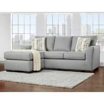 "Alivya 83"" Reversible Modular Sofa and Chaise - Wayfair"