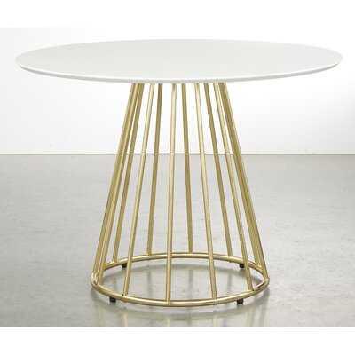 "Strathmore 43.3"" Pedestal Dining Table - Wayfair"