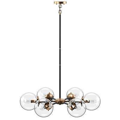 Shontelle 6 - Light Sputnik Sphere Chandelier - AllModern