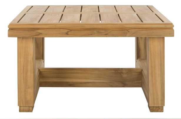Montford End Table - Teak/Beige - Arlo Home - Arlo Home
