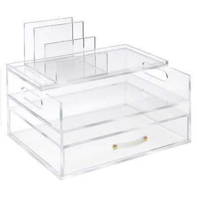 Acrylic Desk Organizer - Wayfair