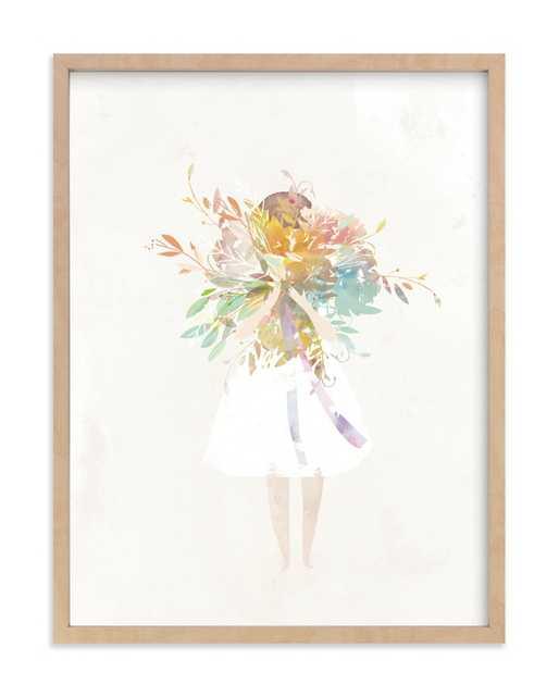 The Flower Girl Children's Art Print - Minted