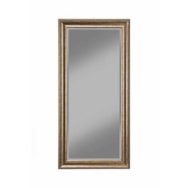 Antique Gold Full Length Floor Leaner Mirror - Home Depot