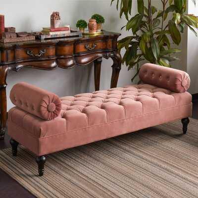 Tito Bolstered Upholstered Bench - Wayfair