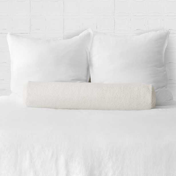 Catalina Boucle Bolster Pillow By The Citizenry - The Citizenry