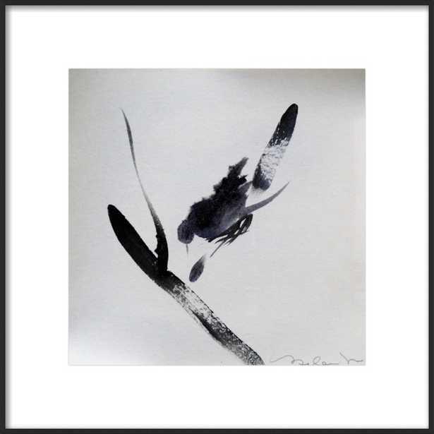 Little bird in my garden by Frederic Belaubre for Artfully Walls - Artfully Walls