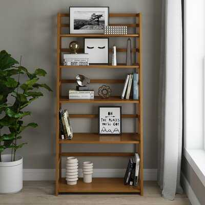 Seo Solid Wood Ladder Bookcase - Wayfair