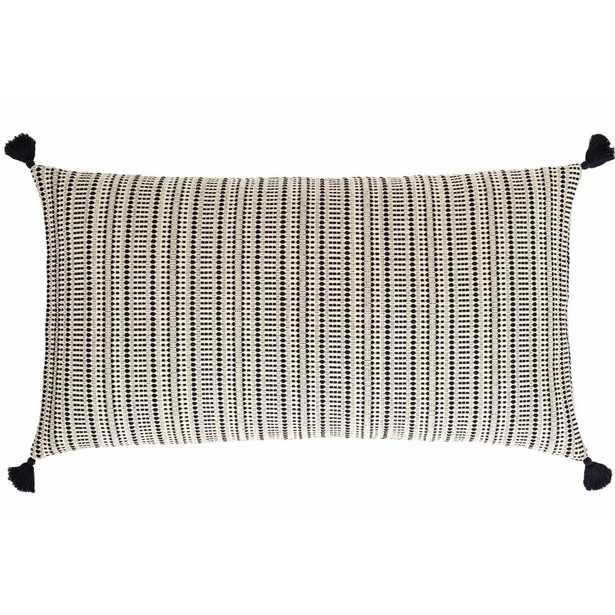 Pine Cone Hill Kumi Jacquard Cotton Lumbar Pillow - Perigold