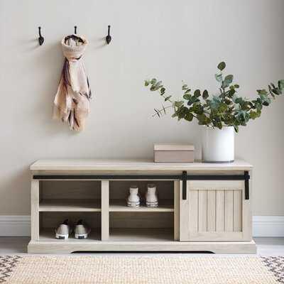 Pinehurst Shoe Storage Bench - Wayfair
