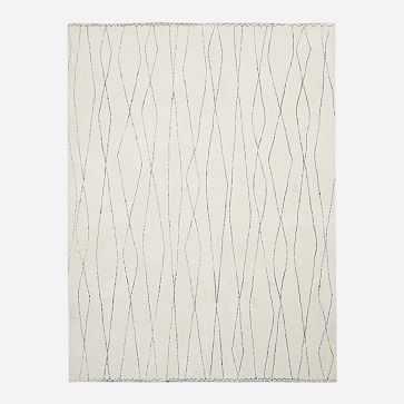 Safi Rug, 8x10, White - West Elm