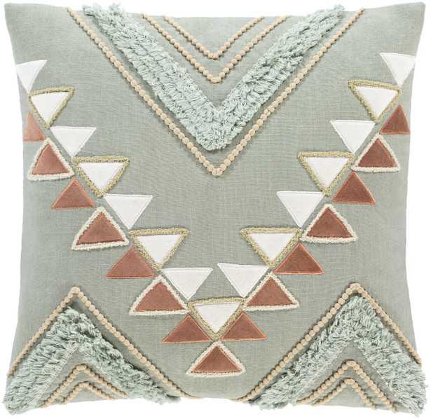 "Bisbee Pillow, 18"" x 18"" - Neva Home"