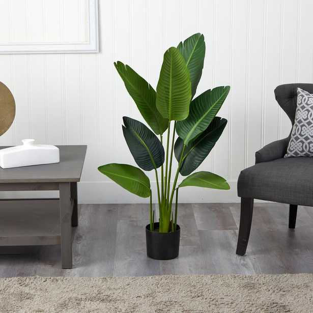 Indoor 4 ft. Travelers Palm Artificial Tree - Home Depot