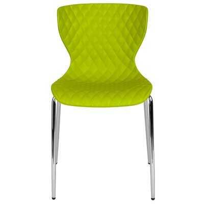 Lowell Armless Contemporary Stackable Chair - Wayfair