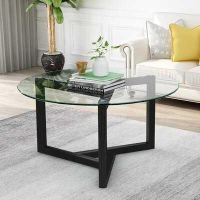 Sesco Abstract Coffee Table - Wayfair