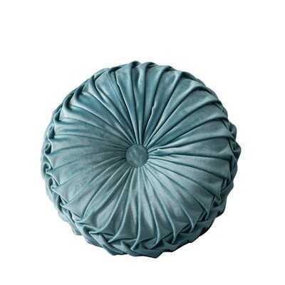 Gallaher Round Velvet Pillow Cover & Insert - Wayfair