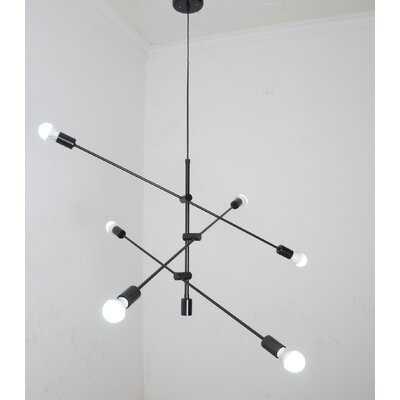 Aldgate 6 - Light Unique Modern Linear Chandelier - Wayfair