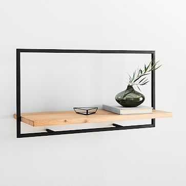 Shelfmate Long Horizontal Wall Shelf - West Elm