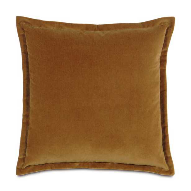 """Eastern Accents Jackson Solid Velvet Pillow Size: 20"""" x 20"""", Color: Rust - Perigold"""