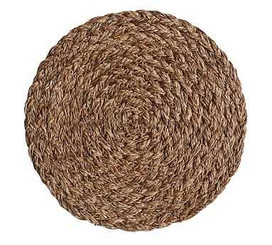 Braided Abaca Charger, Set of 4 - Pottery Barn