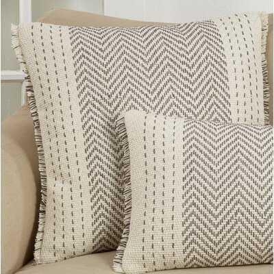 """Bindera Cotton 22"""" Throw Pillow Cover - Wayfair"""