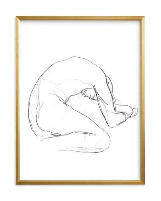Seated Figure Art Print - Minted