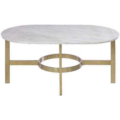 Gallego Marbled Coffee Table - AllModern