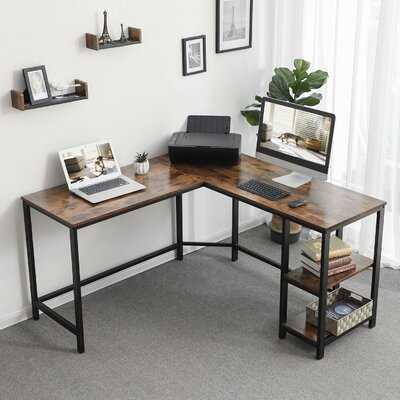 Enprise L-Shape Desk - Wayfair