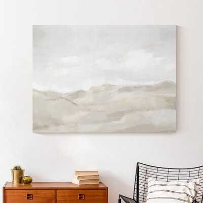 Neutral Abstract - Wrapped Canvas Print - Wayfair
