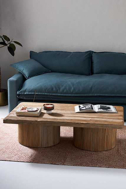 Margate Reclaimed Wood Coffee Table By Anthropologie in Beige - Anthropologie