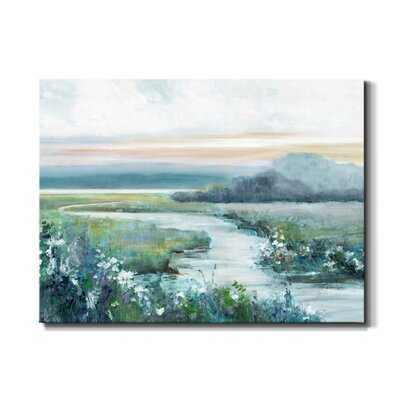 Eternity in Twilight by J Paul - Wrapped Canvas Painting Print - Wayfair