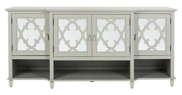 Juliette Mirrored Sideboard - Grey - Arlo Home - Arlo Home