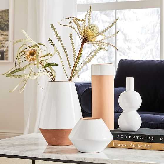 Mexican White Vase, Set of 4 - West Elm