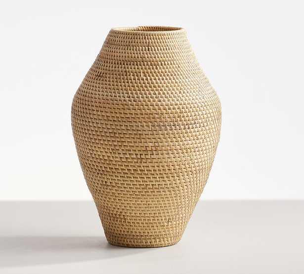 Woven Rattan Vases, Tall, Natural - Pottery Barn