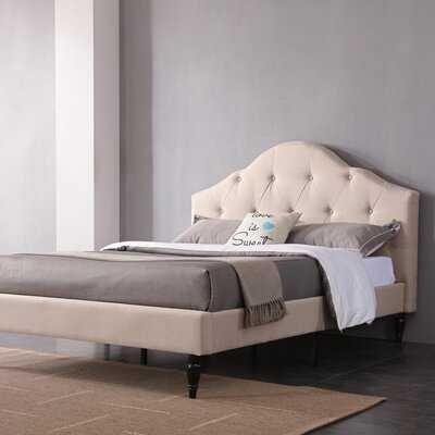 Addie Upholstered Platform Bed - Birch Lane